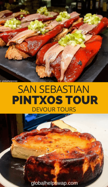 Eat your way around San Sebastian, Spain with this wonderful Pintxos Tour with Devour. The food in the old town is world class. Add the beach and culture and this town is almost perfect.