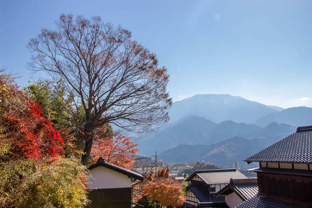Walking the Nakasendo Trail in Autumn