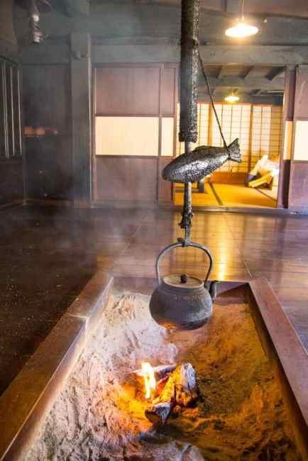 Ancient Tea house on the Nakasendo Trail