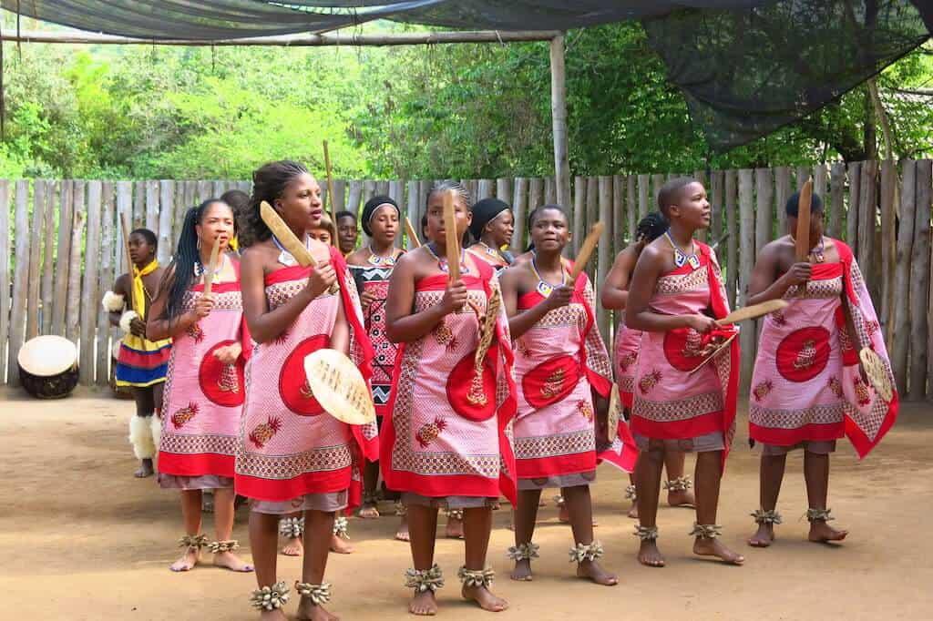 Village women of Swaziland, Africa