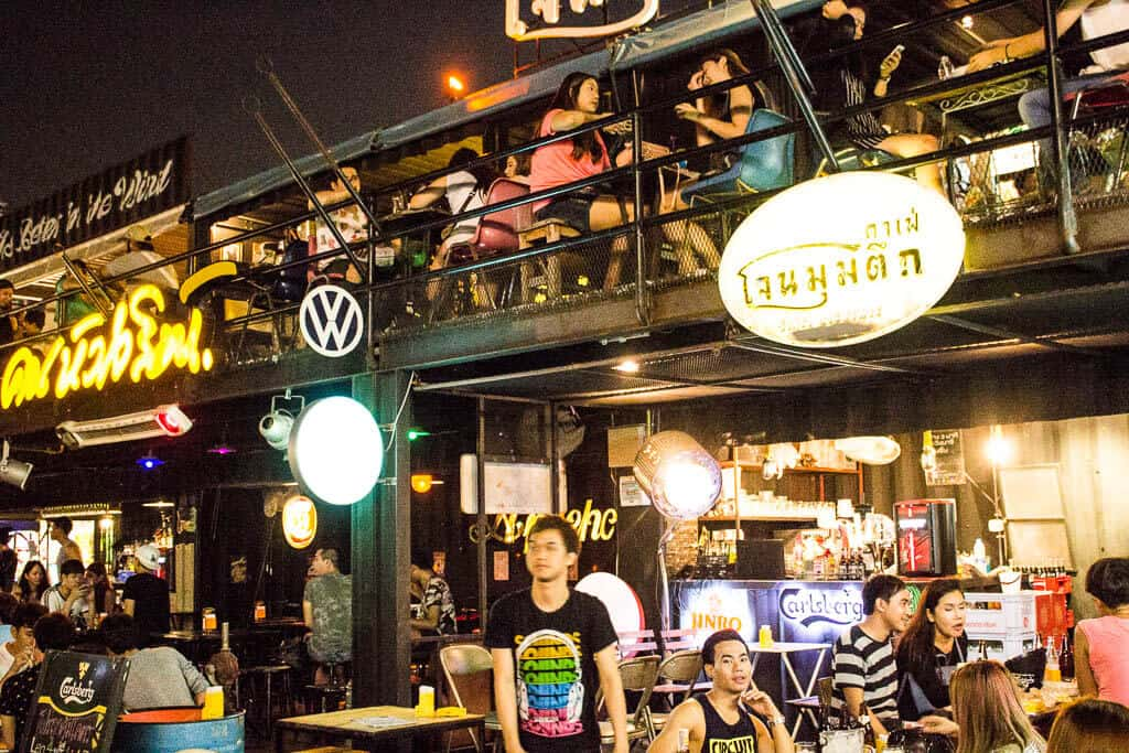 Bars at Rot Fai Market