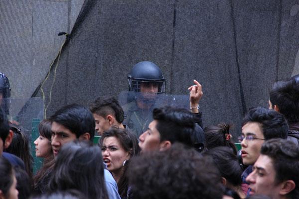 Student protests, Bogota
