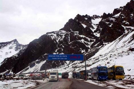 Mendoza: Travel Through Paso Libertadores