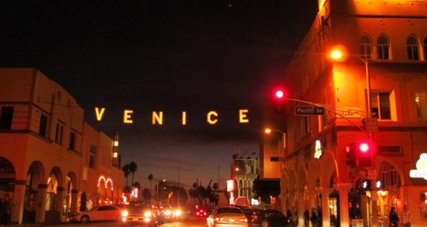 Venice Beach After Dark