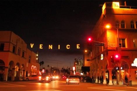 Venice Beach After Dark