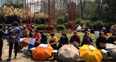 Shanghai: People's Square (Marriage Market)