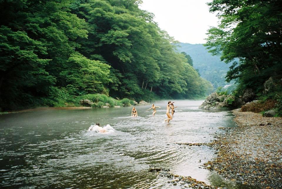 Tokyo: Swim in the Ome River