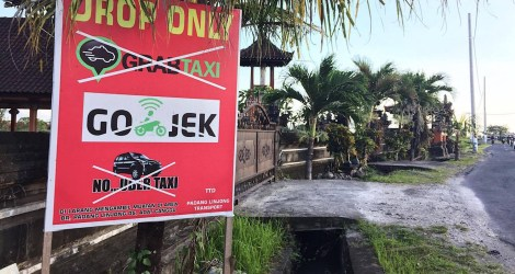 Are Uber Drivers in Bali an Endangered Species?