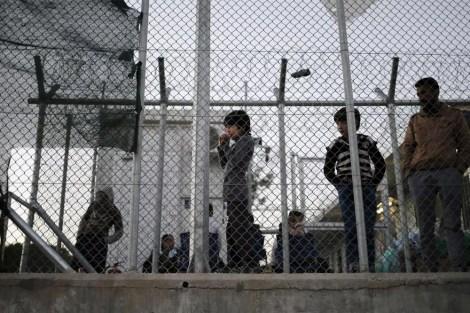 A Month at Moria Refugee Camp