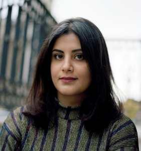 Portrait photo of Loujain al-Hathloul, Saudi women's rights activist