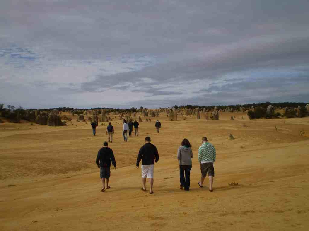 group tours Western Australia Pinnacles