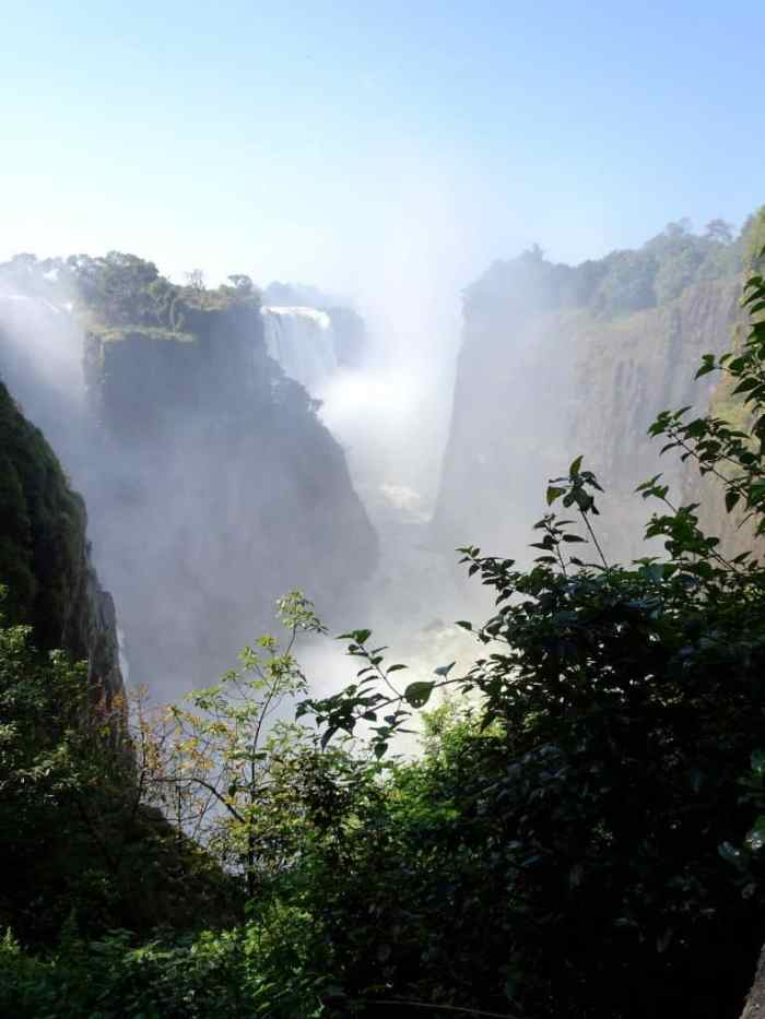 Victoria Falls from the Zambezi side