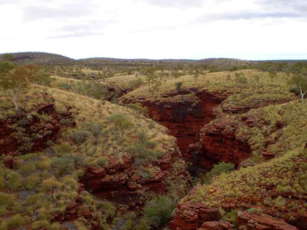 Natural wonders of Australia - Karijini NP