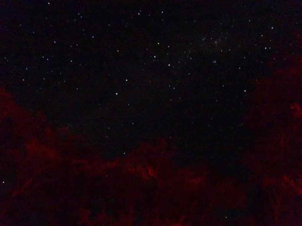 Night sky in teh Atacama desert