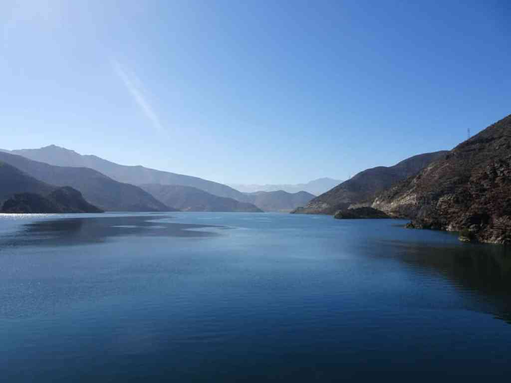Elqui Valley Lake Chile