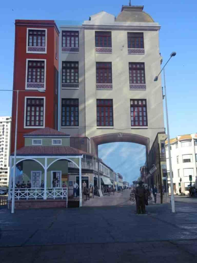 Antofagasta Museum mural