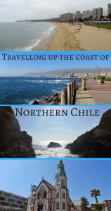 TRavelling up the coast of Northern Chile Pin