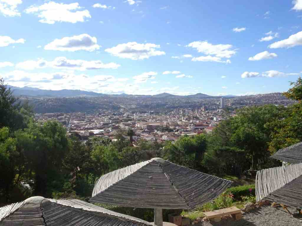View over Sucre from Ricoleta