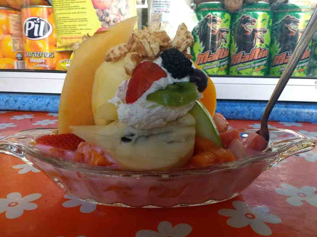 Fruit Salad at Marceto Central Sucre