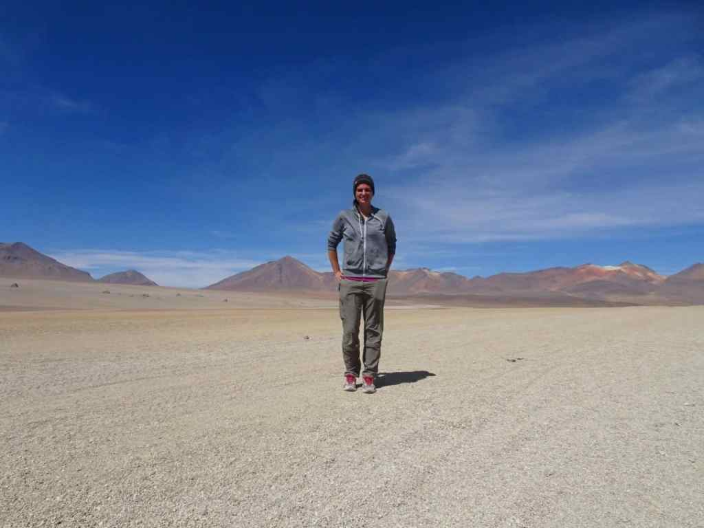 Desert in Southern Bolivia
