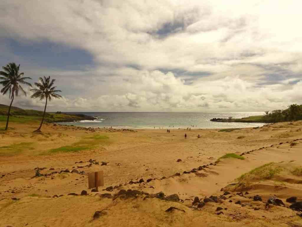 Anakena Beach Easter island