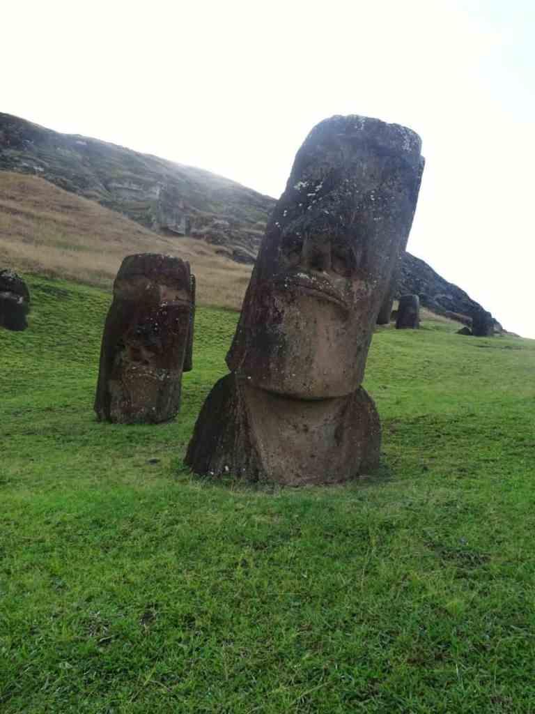 Maoi at Rano Raraku Easter Island