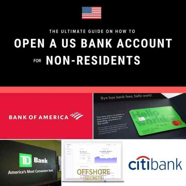 Open a US Bank Account as a Non-Resident in [15]