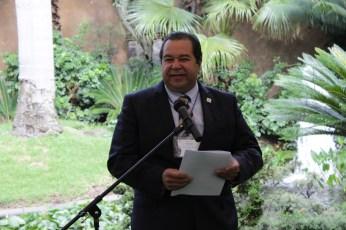 Contador Juan Carlos Pascual, representante de la Secretaría de Economía