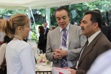 Nathalie Thonon de la Universitdad de Belgica en Bruselas, Ing. Javier Espinosa y Dr. Jorge Morales Barud, Presidente municipal de Cuernavaca