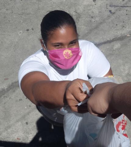 FEV en Santiago de los Caballeros ayuda a población migrante