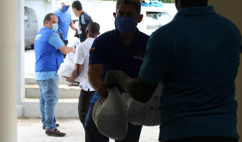 Globalizate Rado entrega raciones migrantes venezolanos oim