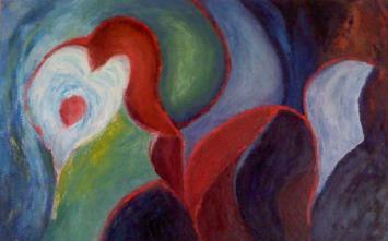 Artist: Herminia Haro Guzman Title: Anguished wait