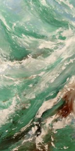"Artist: Laara Williamsen Title: Element 4 WATER Size: 18"" x 36"""