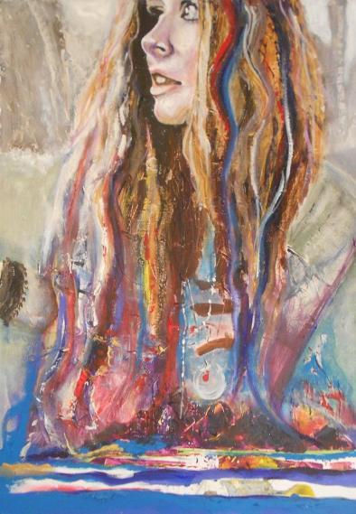 Artist: Jan Ejsymontt Title: Element Girl