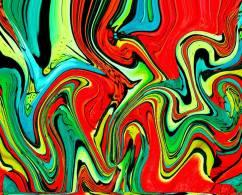 Artist: Nina Tokhtamin Title: Movement of galaxies