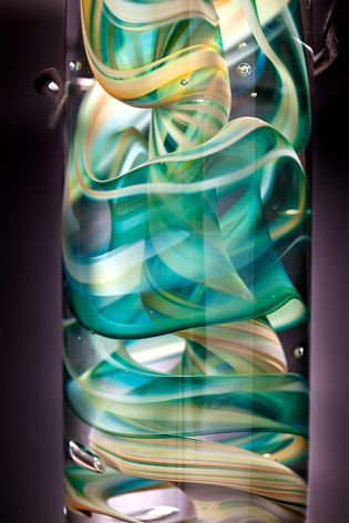 Artist: David Flower Title: cortex Seasons Spring close up detail