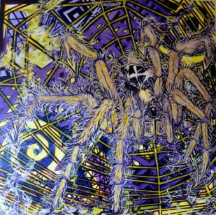 Artist: Hawa Marta Title:The Laces of The Arachne 8