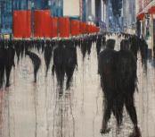 Artist: Lesley Oldaker Title: Together we are many