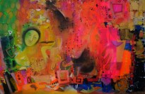 Artist: Madan Lal Title: Urban Mirage III