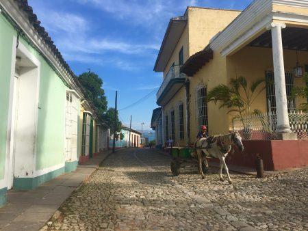 Reisroute West-Cuba