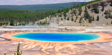 De Highlights van Yellowstone NP