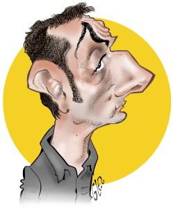 Damien Glez, self-portrait. (Courtesy Damien Glez).