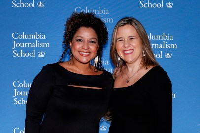 Tamoa Calzadilla and colleague Laura Weffer in 2014. (AP Photo/Jason DeCrow)