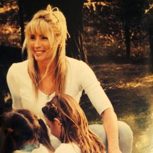 Karen close up with kids