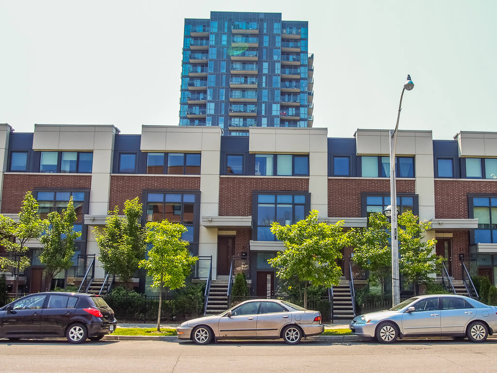 The redevelopment of Regent Park is changing the urban landscape