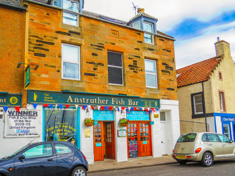 Sustainable Seafood in Scotland 4 Anstruther Fish Bar