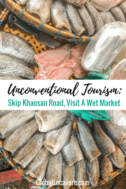 Unconventional Tourism Suggestion: Skip Khaosan Road, the overcrowded, touristy area for a trip Nonthaburi Market to sampled street food and meet local people.