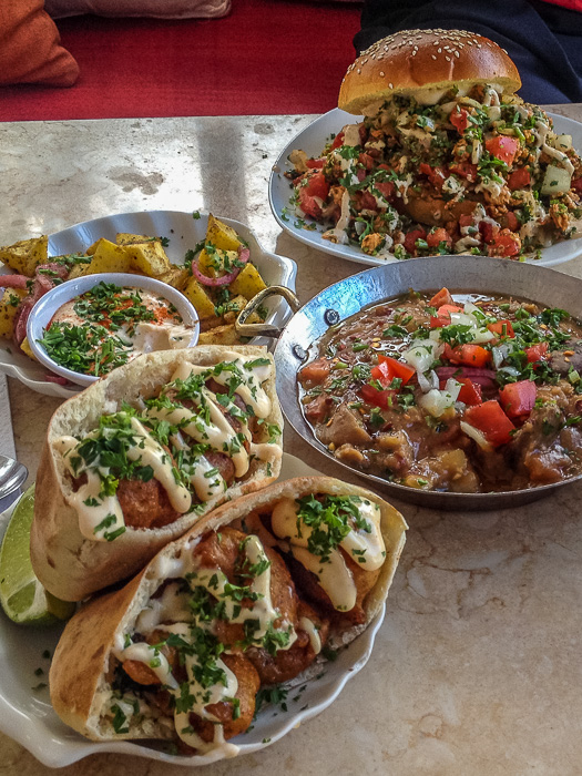 A selection of delicious Egyptian food in Toronto!