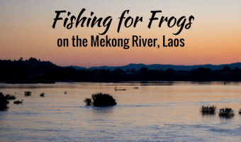 As the sun rises I watch local fishermen engage in Subsistence Fishing on the Mekong River off the island of Don Khong in the 4000 Islands of Laos.