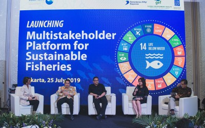 Government of Indonesia Launches Multi-stakeholder Platform for Sustainable Fisheries